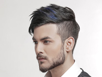 hair style for men by Texture touch