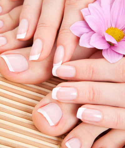 pedicure and manicure by Texture touch