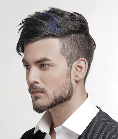 classic haircut for men by Texture touch